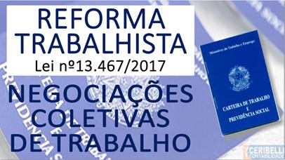 Reforma Trabalhista: Negociação Coletiva